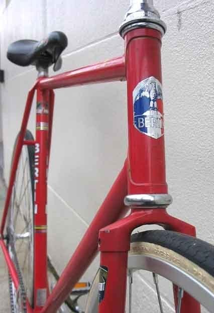 Red Bertin Track bike