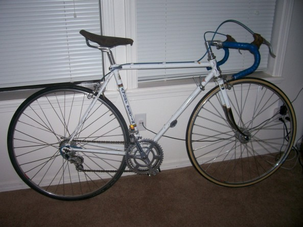 White Bertin Bike Form