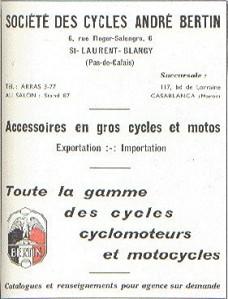 Andre Bertin Moto advert