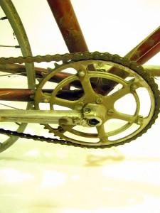 Bertin Track bike crank