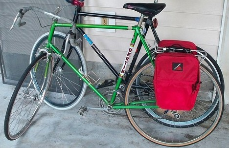 Bertin with panniers