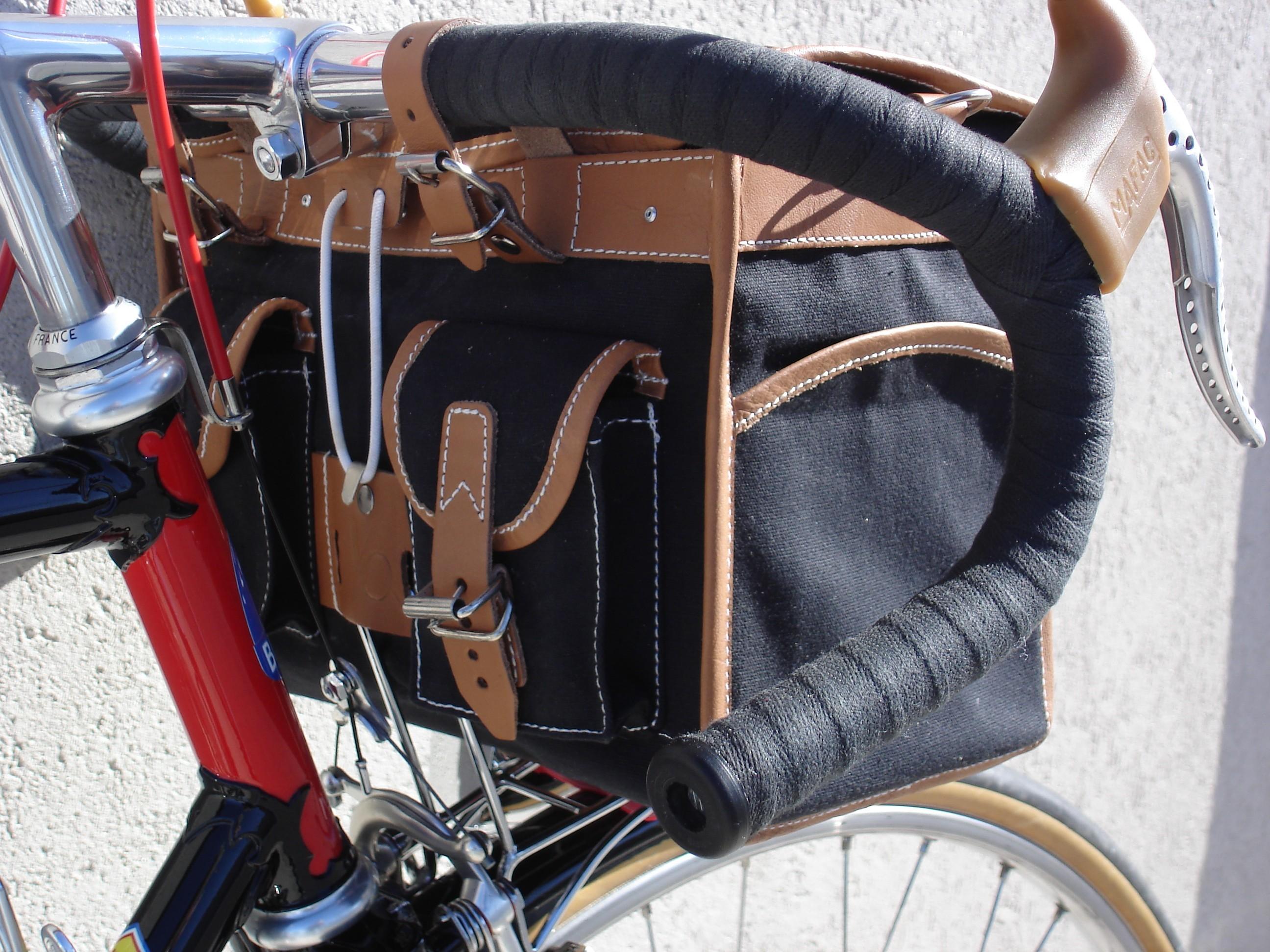 Handlebar Bags Bertin Classic Cycles