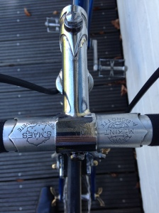 Steel Stem and Alloy Maes Style Handlebar