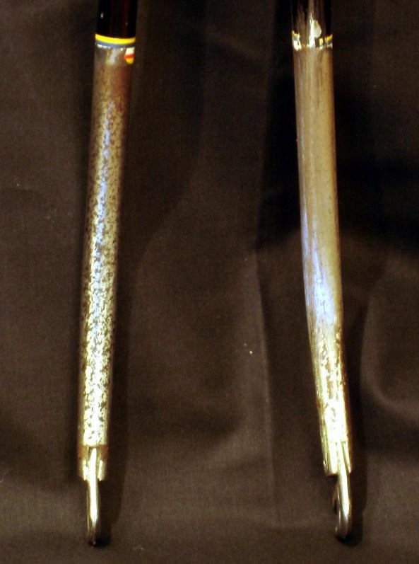 Before - Lower Fork Legs