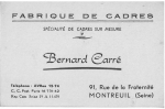 B. Carre business card