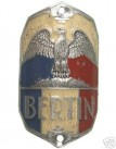 Bertin 50s Headbadge